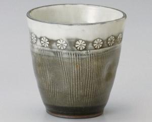 印花紋焼酎カップ