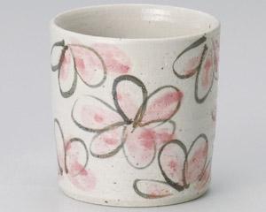 花園桃色ロックカップ