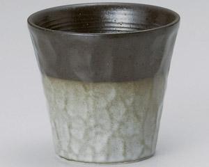 いぶし灰釉ロックカップ