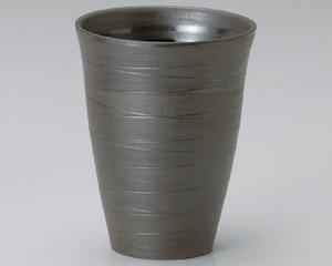 黒ガラス灰Fカップ(大)