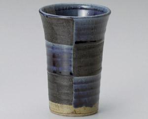 藍市松フリーカップ