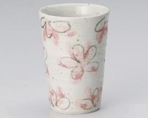 花園桃色フリーカップ