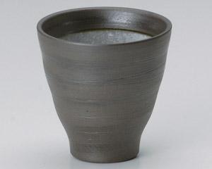 黒ガラス灰Fカップ(小)