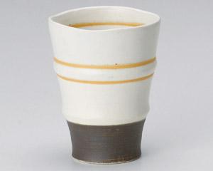 アースオレンジフリーカップ(白)