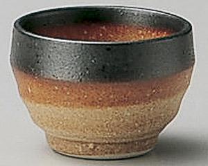 伊賀黒サビ丸盃