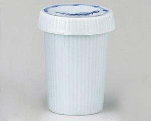 青磁千筋ふぐヒレ酒(フタ付)