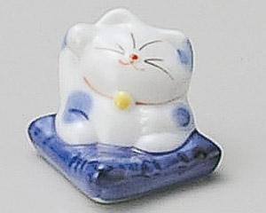 まねき猫(青)