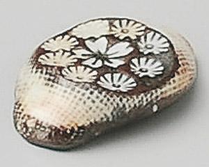 三島楕円箸置