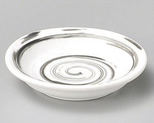白うずライン薬味皿