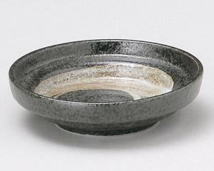黒結晶白刷毛そば薬味皿 画像