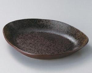 小豆釉ピラフ鉢(大)