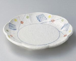 パステル花型8.5盛皿