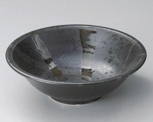 しののめ(黒)円8.0鉢
