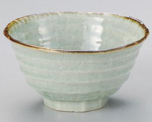 翠玉ロクベ豆茶碗