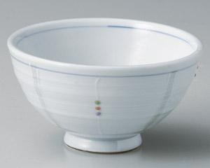 色彩一珍十草大茶碗