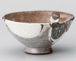 鼠志野カブ茶碗