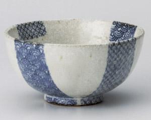 白砂波鹿の子茶碗