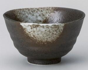 白吹天目京茶碗