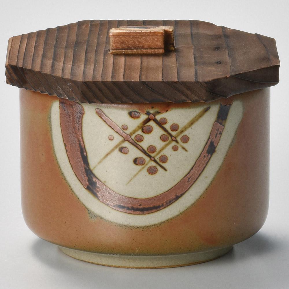 茶丸紋飯器