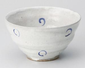 呉須丸紋茶碗
