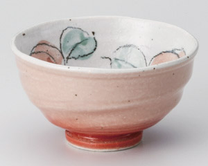 ばらピンク茶碗