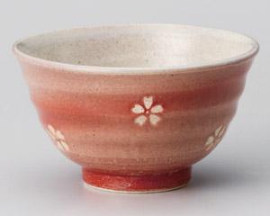 春うらら赤新型茶碗