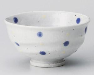 紺水玉手造茶碗