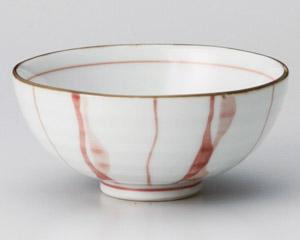 ゆらり十草(紅)茶碗(小)