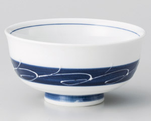 白波帯汁茶碗