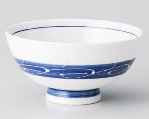 白波帯丸碗