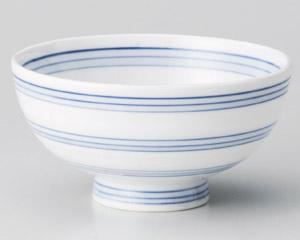 三段帯筋丸碗
