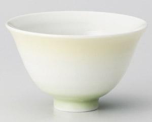 カラーグラデーションイエロー茶碗 画像
