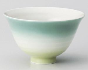 カラーグラデーションヒスイ茶碗 画像