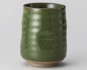 緑亀甲だるま寿司湯呑