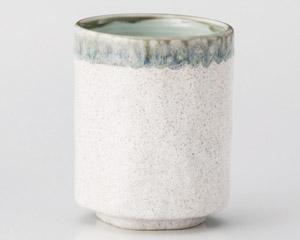 古窯型白うのふ中湯呑