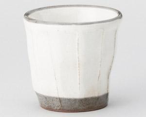 粉引ソギ湯呑カップ