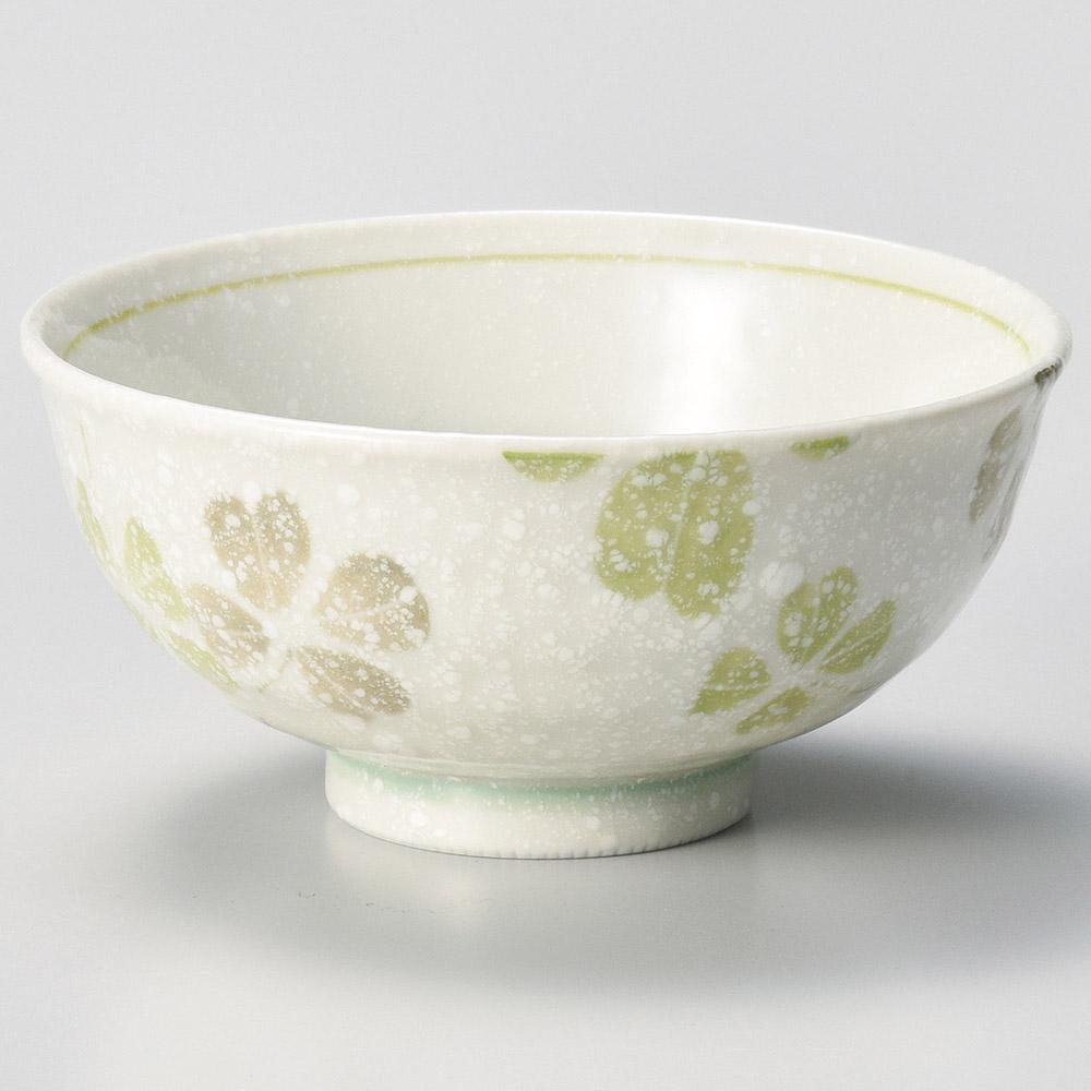 クローバー 茶碗 グリーン 画像