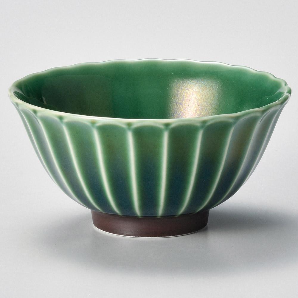 かすみ 緑 11.5cmボウル