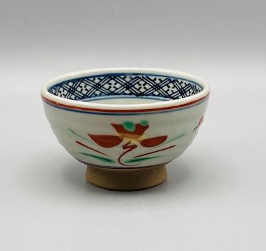 赤絵花煎茶(在庫86限り) 画像