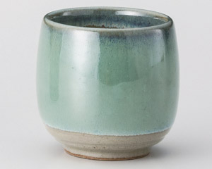 グリーンタル型湯呑(小)