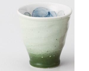 バラグリーン手造り湯呑