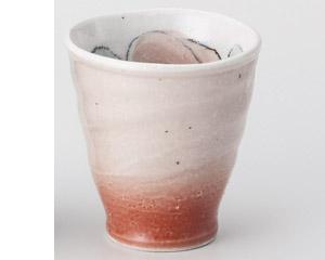 バラピンク手造り湯呑