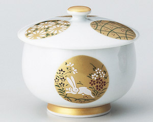 金銀丸紋蓋付煎茶 画像1