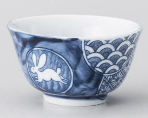 丸紋うさぎ厚口煎茶