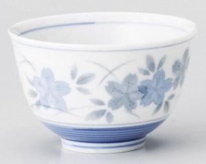 薄墨さくら反煎茶(青)