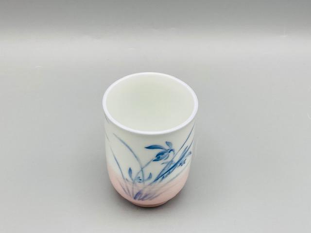 ラン湯呑(ピンク)(在庫18限り) サムネイル5