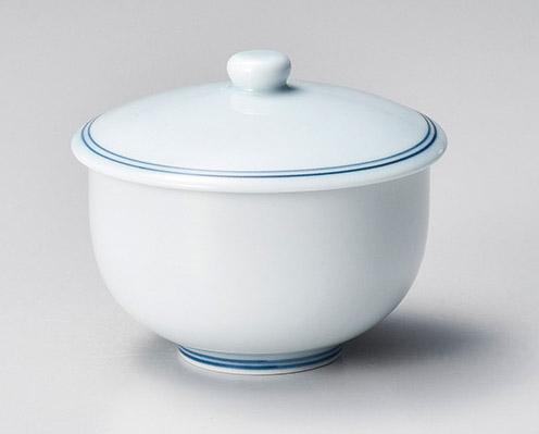 青磁ライン蓋煎茶