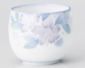 白磁花の香玉湯呑