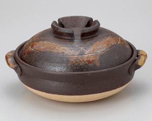 鉄赤格子10号鍋