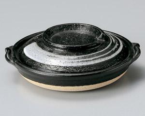 天目刷毛目柳川鍋